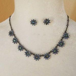 Beautiful Necklace & Earring set by Avon